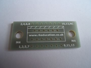 MW13 Breakout PCB for 13 Pin Multiwatt Package